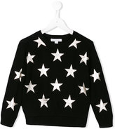 Burberry star print jumper