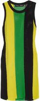 Proenza Schouler Striped Open-knit Top - Yellow