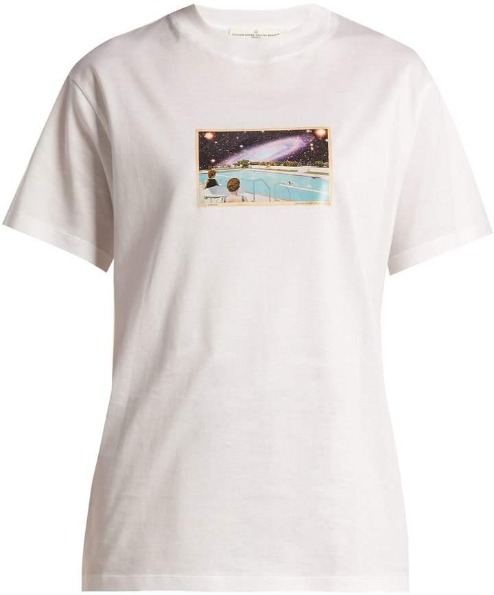 Golden Goose Graphic-print crew-neck cotton T-shirt