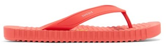 Suicoke Von Ribbed-sole Flip Flops - Red