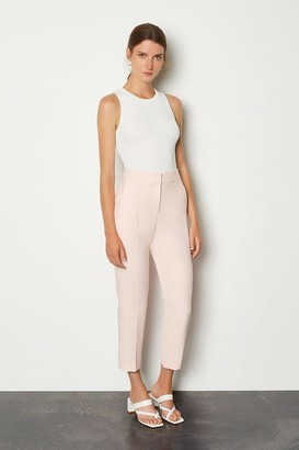 Karen Millen Compact Stretch Tailored Trousers