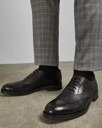 Ted Baker Leather Wingcap Oxford Brogues