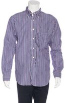 Engineered Garments Striped Button-Up Shirt w/ Tags
