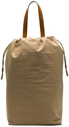 Building Block drawstring backpack