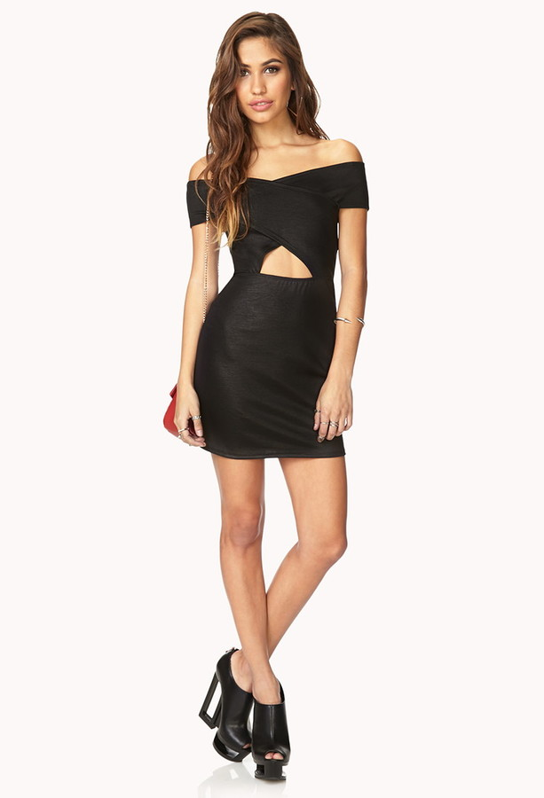 Forever 21 Daring Crisscross Dress