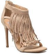 Steve Madden Women's FRINGLY-R Strap Sandals in Beige