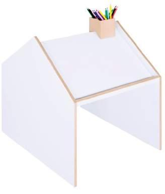 Ninetonine Deskhouse Table (Oak/White)