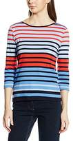 Betty Barclay Women's Shirt Striped 3/4 Sleeve Tops