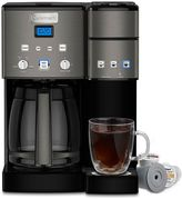 Cuisinart Coffee Center 12-Cup Black Stainless Steel Coffee Maker & Single-Serve Brewer