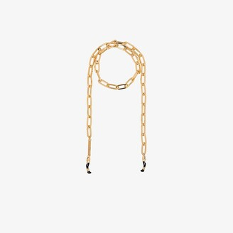 Frame Chain Gold-Plated The Ron Link Glasses Chain - Women's - 18kt Gold Plated Brass