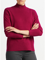 John Lewis Ripple Hem Turtle Neck Jumper
