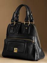 Flatiron triangle satchel - Black
