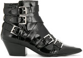 Ash Chelsea buckle boots