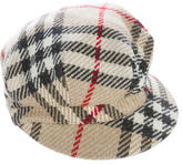 Burberry Wool Nova Check Hat