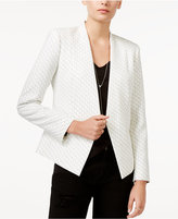 Armani Exchange Printed Open-Front Blazer