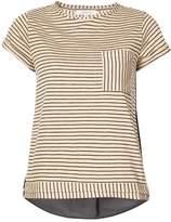 Dorothee Schumacher contrast stripe print T-shirt