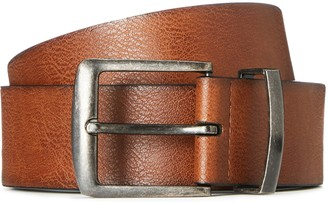 Find. Amazon Brand Men's Distressed Leather Effect Belt