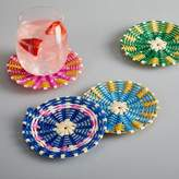 west elm Woven Pinwheel Coasters (Set of 4)