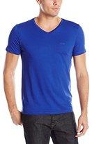 HUGO BOSS Men's C-Canistro Slim Fit Single Jersey V-Neck T-Shirt