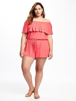 Old Navy Plus-Size Ruffle-Trim Romper