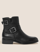 Thumbnail for your product : Marks and Spencer Leather Biker Boots