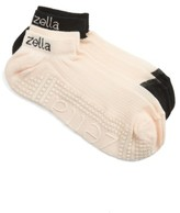 Zella Women's 2-Pack Studio Ankle Socks
