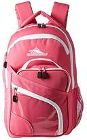 High Sierra Wiggie Lunch Kit Backpack (Candy Pink/White) Backpack Bags