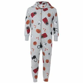 A2Z 4 Kids Kids Onesie Girls Boys Halloween All in One Jumpsuit - Cotton Onesie Halloween Grey_13