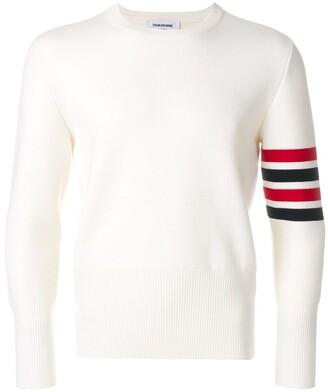 Thom Browne 4-Bar Milano Stitch Pullover