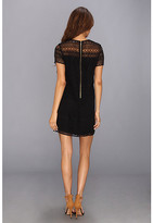 Juicy Couture Linear Guipure Dress