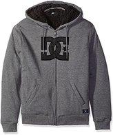 DC Mens Star Sher Fleece Hoody Zip Sweatshirt