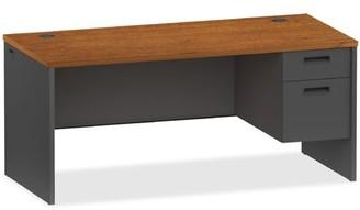 Lorell 97000 Modular Pedestal Desk Finish: Cherry Charcoal