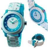 "Brillier Unisex 13.03-02 ""Buzz"" Analog-Digital Reversible Display Watch with Rubber Strap"
