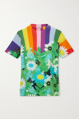 MONCLER GENIUS + 8 Richard Quinn Printed Cotton T-shirt - Green