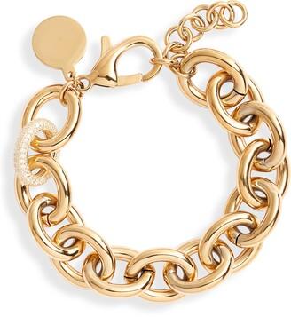 Knotty Chunky Chain Bracelet