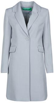 Benetton 2AMH5K2R5 women's Coat in Grey