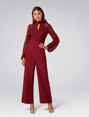 Ever New Everly lace bodice jumpsuit