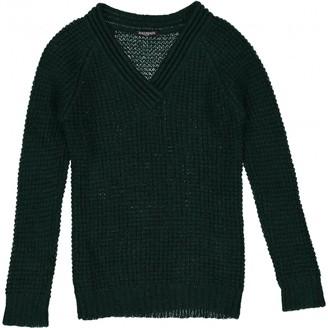 Balmain Green Wool Knitwear