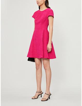Ted Baker Cherise textured woven mini dress