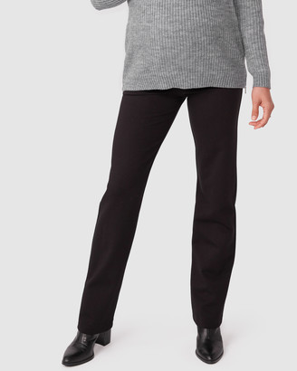 Pea In A Pod Maternity Tinley Straight Leg Ponte Pants
