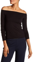 Bailey 44 Off-the-Shoulder Long Sleeve Shirt