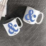 Cathy's Concepts CATHYS CONCEPTS Ampersand Set of 2 Personalized Large 20-oz. Coffee Mugs