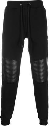Philipp Plein Quilted Patches Track Pants