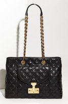 MARC JACOBS 'Astor - Small' Quilted Lambskin Leather Satchel