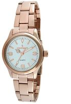 Stainless Steel Rose Gold Tone Watch - 7065RG - Women