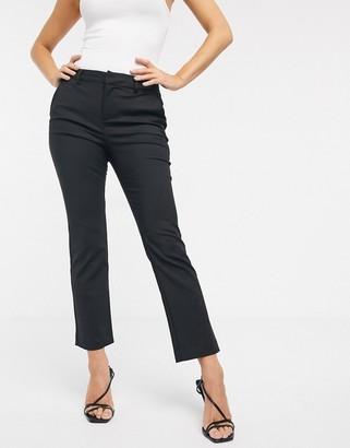 Vero Moda straight leg pants in black