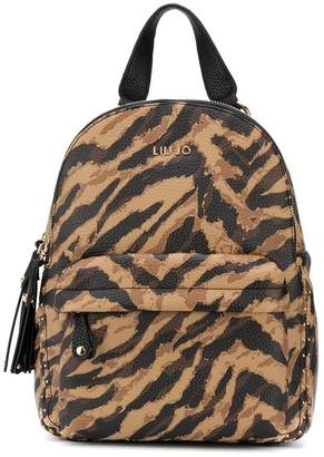 Liu Jo Animal Print Backpack
