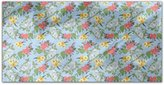 uneekee Mixed Bouquet Rectangle Tablecloth Dining Room Kitchen Woven Polyester Custom Print