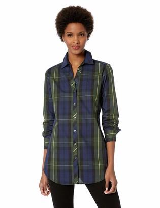 Foxcroft Women's Faith Lenox Tartan Plaid Tunic