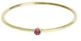 Jennifer Meyer Thin Pink Sapphire Ring